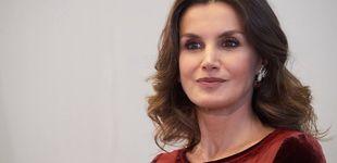 Post de La reina Letizia cierra su viaje a Marruecos con un vestido de pasarela