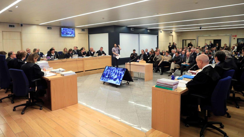 Sala del juicio por la salida a Bolsa de Bankia. (EFE)