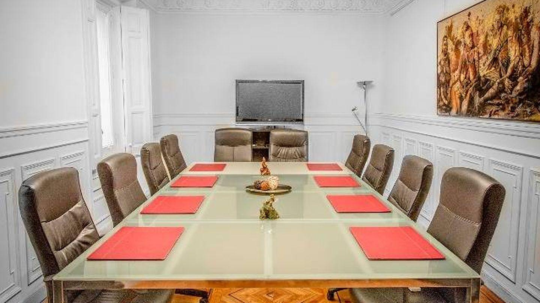 Una de las estancias del 567 preparadas para una reunión. (Foto: Club 567)