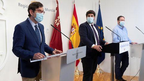 Ciudadanos exige a López Miras que cese ya al consejero de Salud al no dimitir
