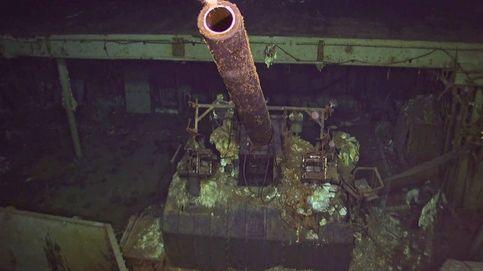 Encuentran un portaaviones perdido de la II GM a más de 5.000 m. de profundidad