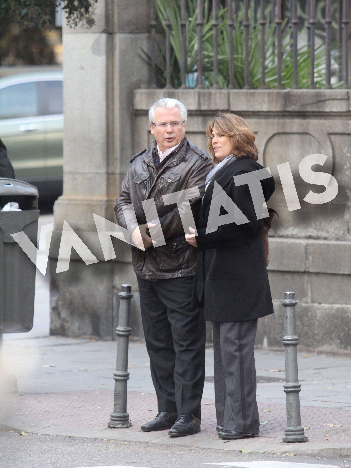 Baltasar Garzón y Dolores Delgado, el pasado mes de diciembre.