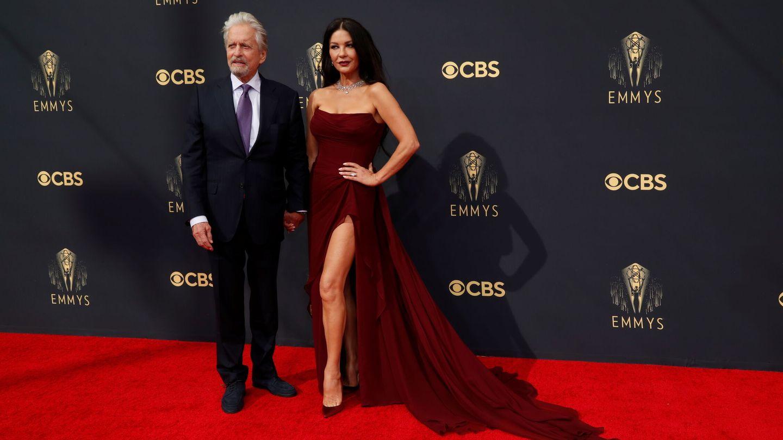 Michael Douglas y Catherine Zeta-Jones. (Reuters)