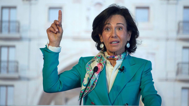 La presidenta del Banco Santander, Ana Botín. (EFE)