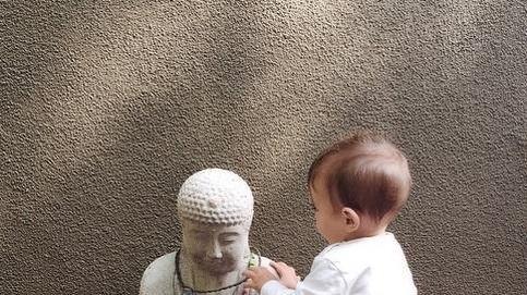 Instagram - Raquel del Rosario inculca a su hijo la filosofía zen