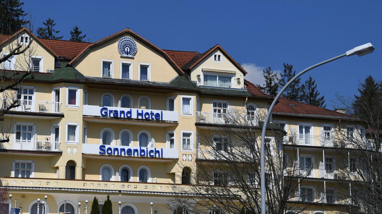 El hotél bávaro donde se está hospedando. (Reuters)