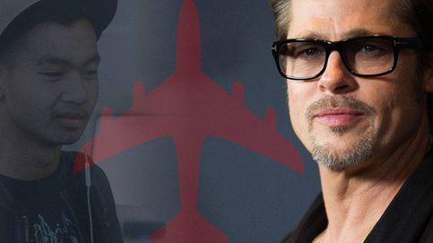 El incidente de avión que le puede costar la custodia de sus hijos a Brad Pitt