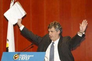 Villar, reelegido, pedirá el Mundial de 2018