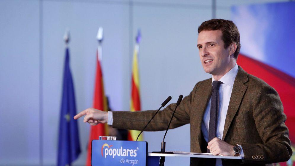 Foto: Clausura de la convención de economía y empleo del PP. (EFE)