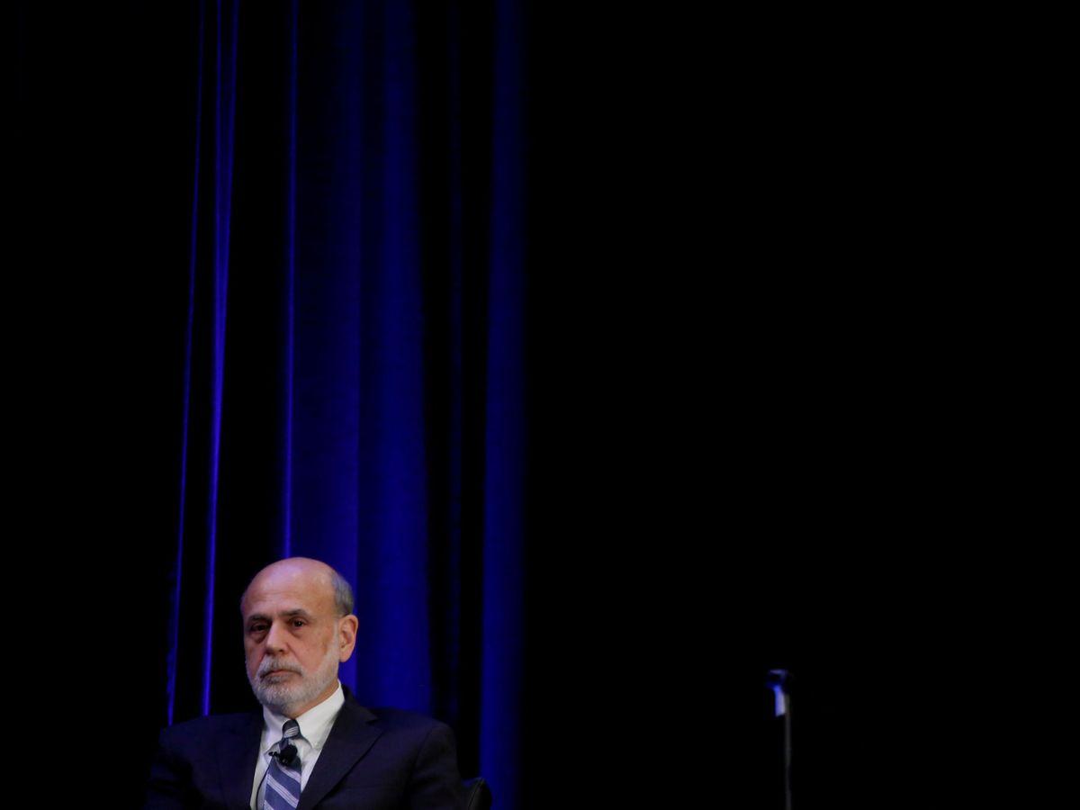 Foto: Ben Bernanke, ex presidente de la Fed. (Reuters)