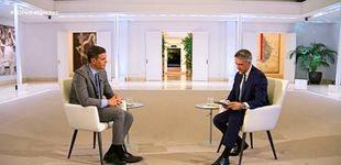 Post de Pedro Sánchez se entrevista a sí mismo en TVE