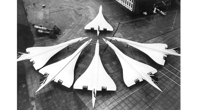 Foto: Imagen del Concorde en 1986. (Getty Images)