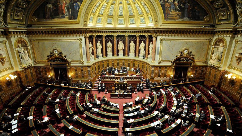 Foto: Vista general del Senado en París. (EFE)