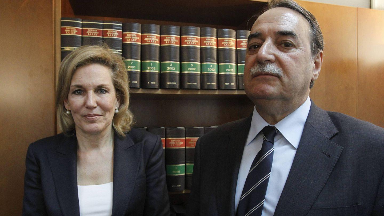 José Ángel Galán y Graciela Otondo fueron los representantes legales de la cantante hasta que entró en prisión. (EFE)