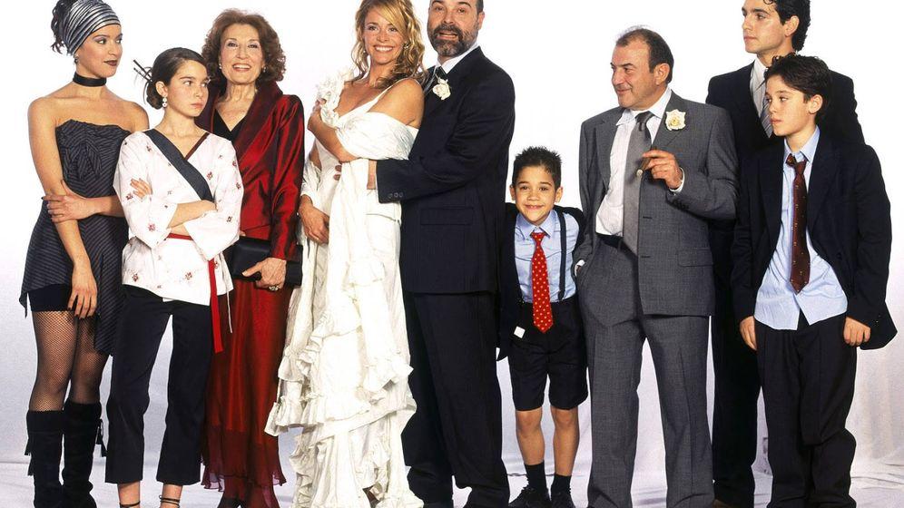 Foto: El casting de la serie 'Los Serrano'. (Globomedia)