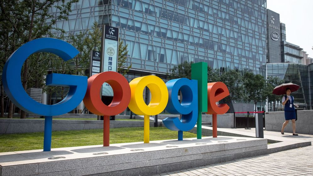 Foto: Sede de Google en China. (EFE)