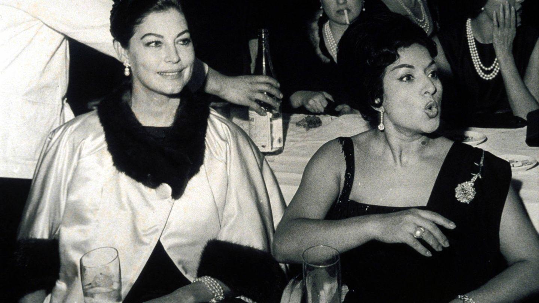 Ava Gardner junto a Lola Flores. (Gtres)