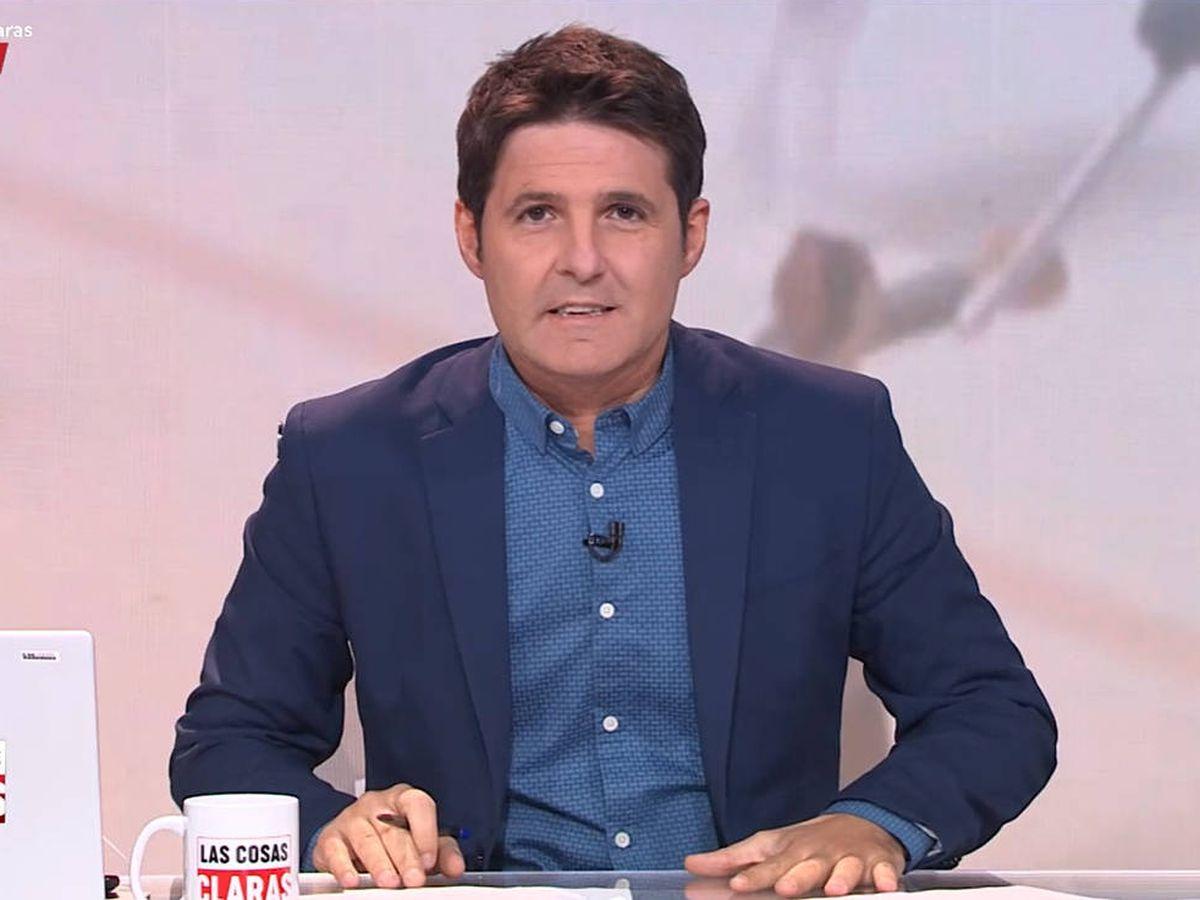 Foto: Jesús Cintora, en 'Las cosas claras'. (TVE)