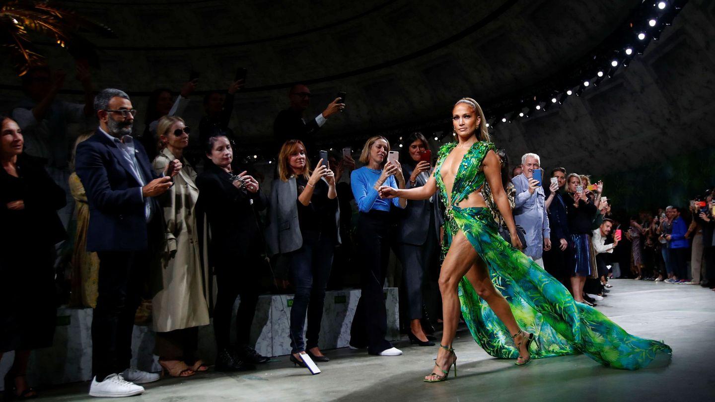 Jennifer Lopez es la noticia con mayúsculas en Milán (REUTERS)