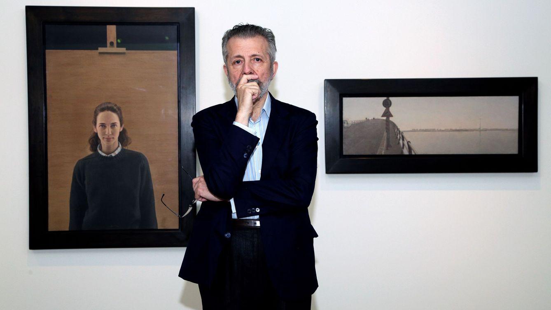 Hernán Cortés, pintor de presidentes y reyes: Rajoy tiene una cabeza para pintarla
