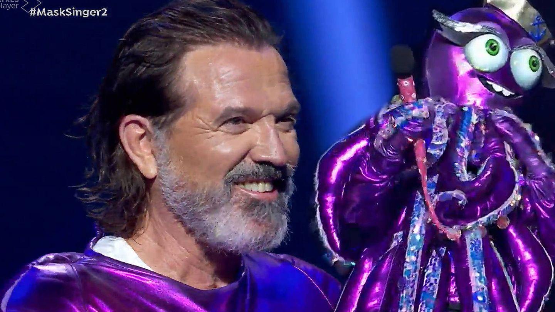Pepe Navarro, en 'Mask Singer'. (Atresmedia)