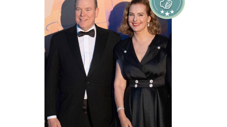 Alberto de Mónaco y Carole Bouquet. (Getty)