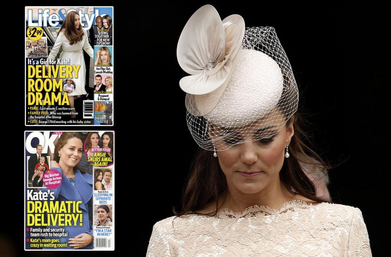 Foto: Kate Middleton, en una imagen de archivo, y las portadas de las revistas