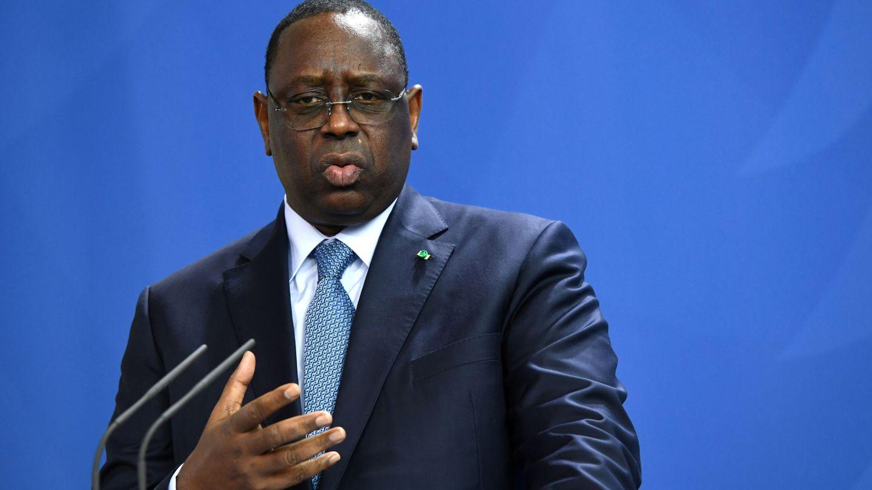 El jefe de Estado de Senegal, Macky Sall. (Reuters)