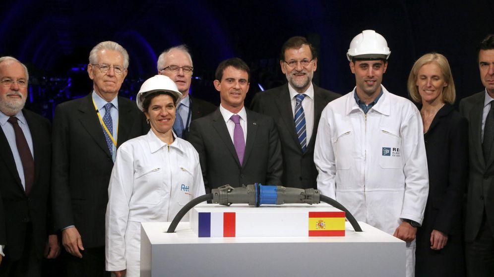 Foto: Foto de archivo al presentar la nueva interconexión eléctrica. (EFE)