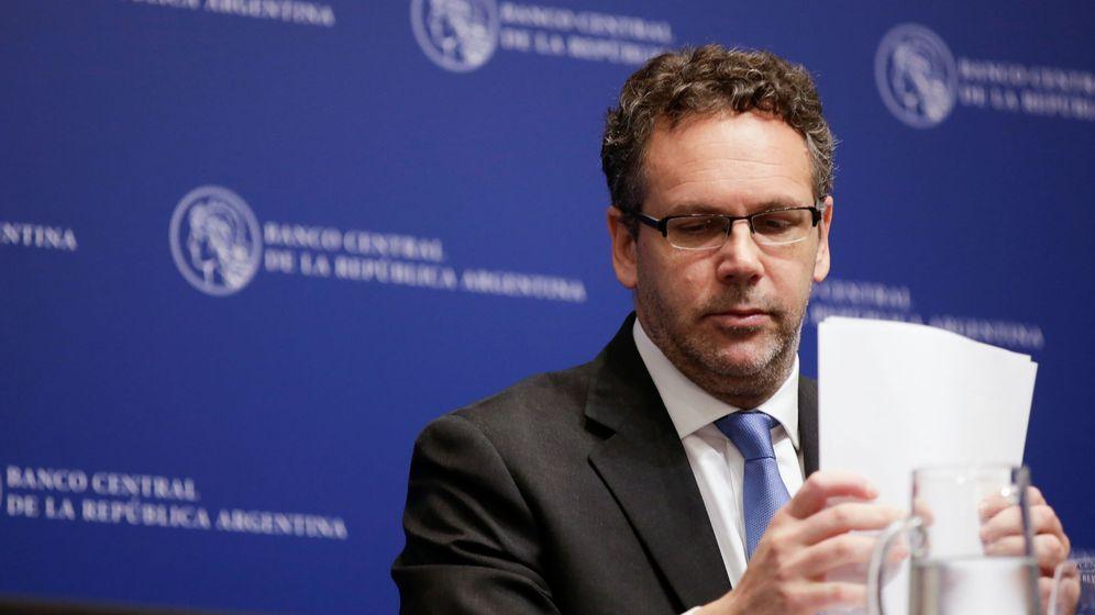 Foto:  Guido Sandleris, presidente del banco central de Argentina (Reuters)