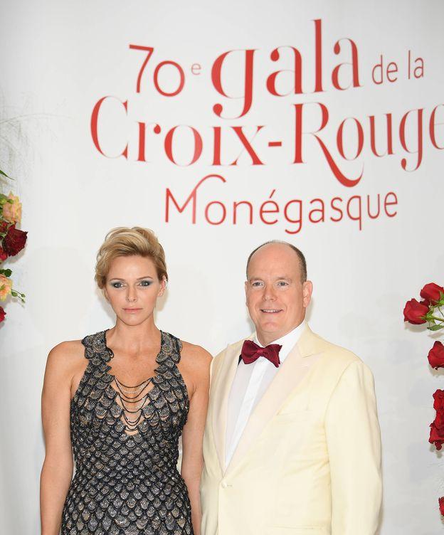 Foto: Alberto y Charlène, en el evento del verano en Mónaco. (Getty)