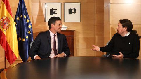 Por qué Iglesias dice coalición y Sánchez colaboración