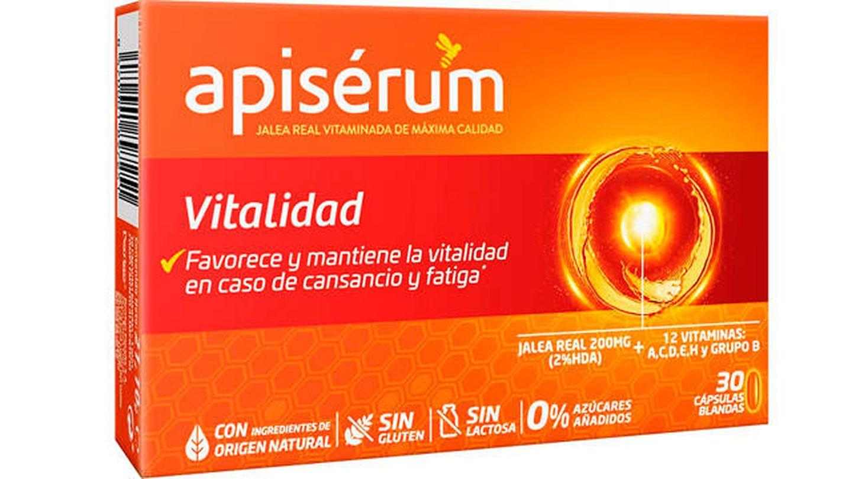 Apisérum vitalidad cápsulas de jalea real