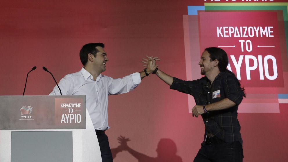 Pablo Iglesias apoya a Tsipras: Un león defendiendo a la patria de los buitres