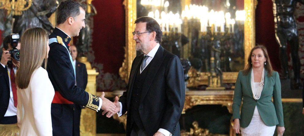 Foto: Recepción en el Palacio Real