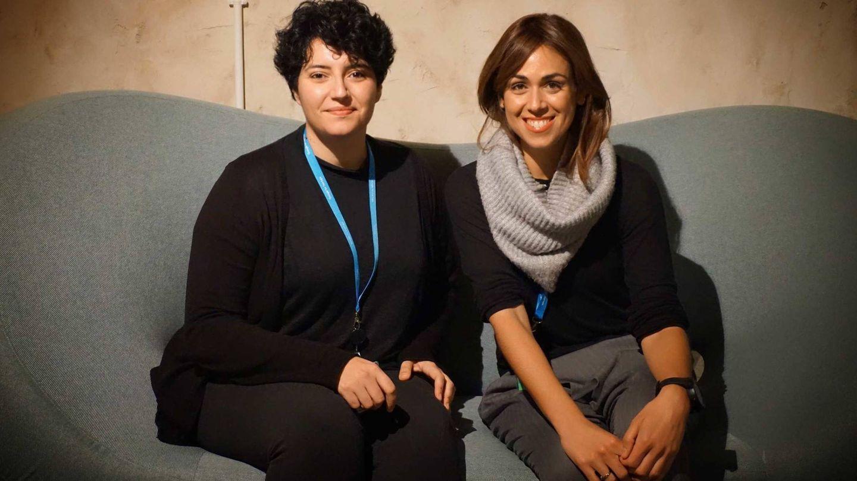 Las dos fundadoras de POiN: Nazareth y Angélica. (Cortesía)