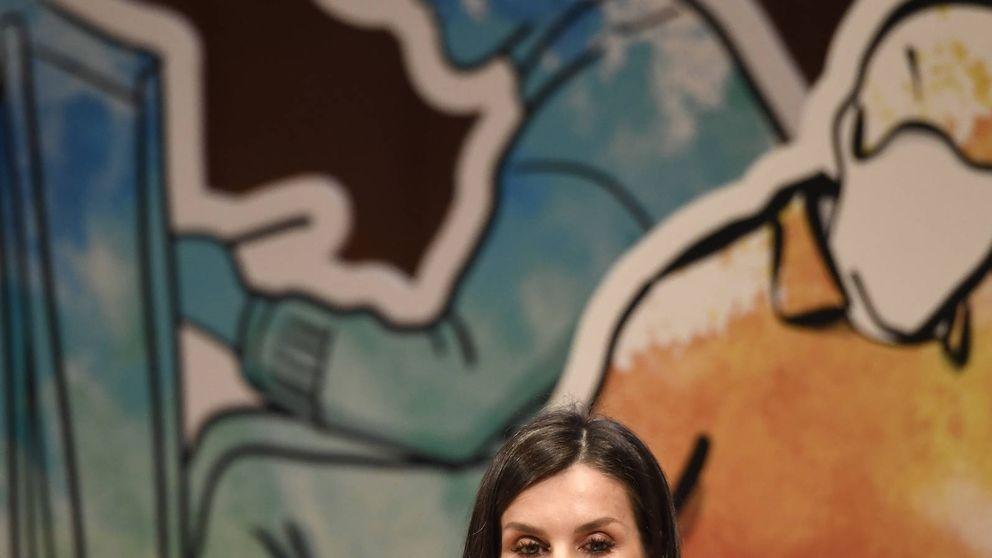 La reina Letizia se viste de ASOS en el momento más duro de la firma
