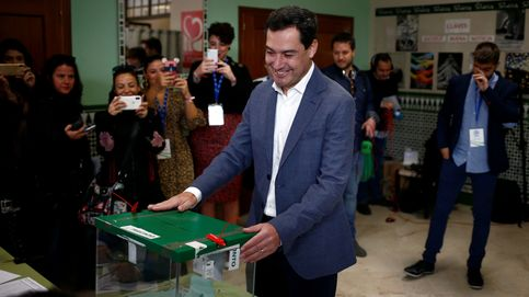 Juanma Moreno anima a votar masivamente porque no hacerlo lleva a la melancolía