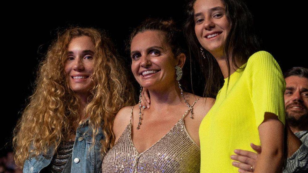 Foto:  Sandra García-Sanjuán, anfitriona de Blanca Cuesta y Victoria Federica. (Foto Elena Parlange/Avory)