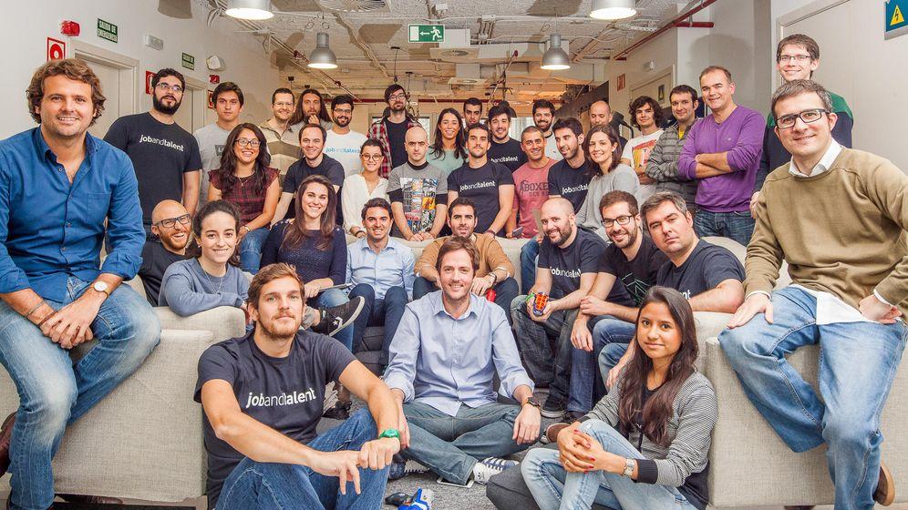 Foto: Empleados de la 'startup' online jobandtalent