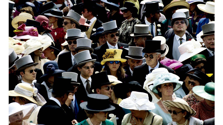 """Foto: Las carreras de caballos que se celebran en Ascot son escenario principal para exhibir eso que se ha dado en llamar """"estilo inglés""""."""