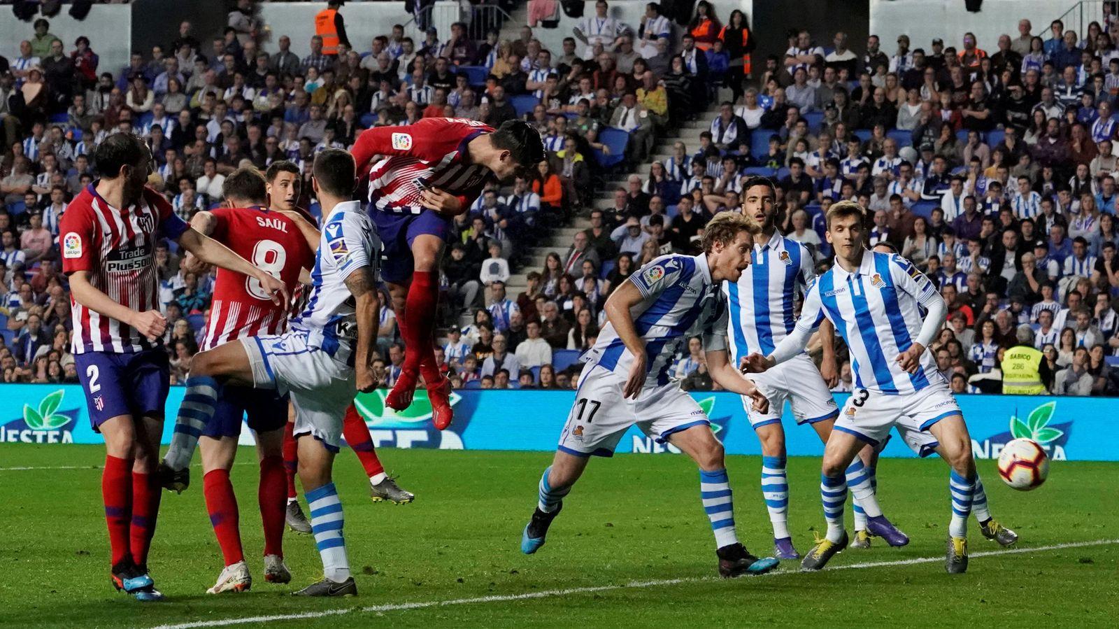 Foto: Moratá marcó en uno de los choques del año pasado. (Reuters)