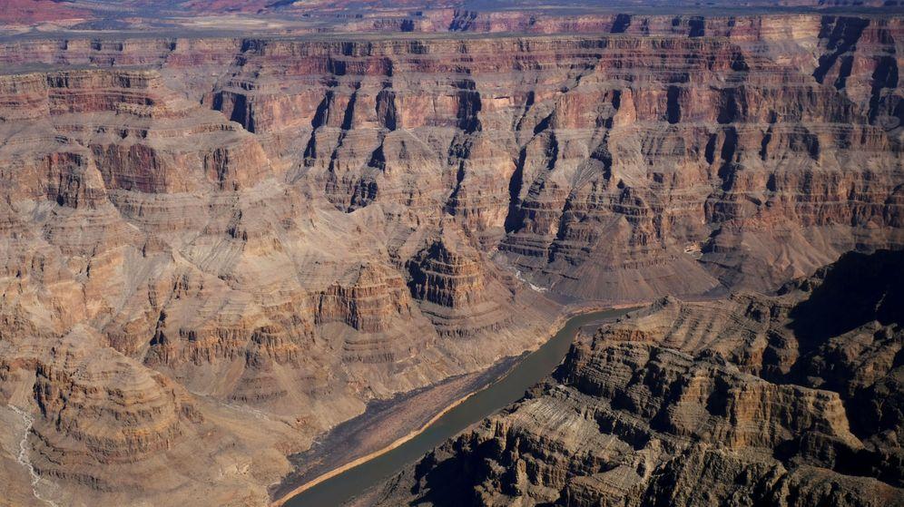 Foto: Imagen del río Colorado atravesando el Gran Cañón. (Reuters)