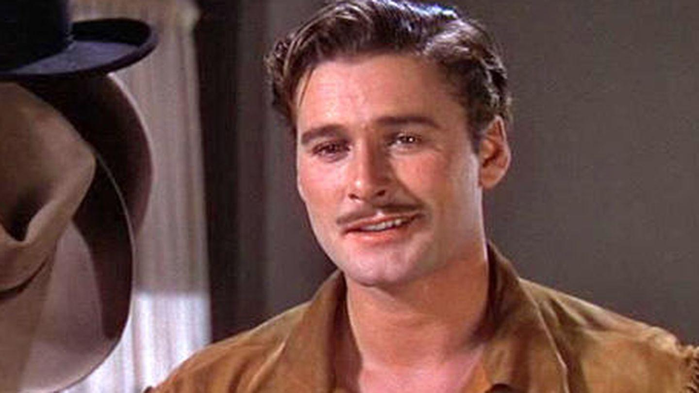 Errol Flynn, en 'Dodge, ciudad sin ley' (1939).