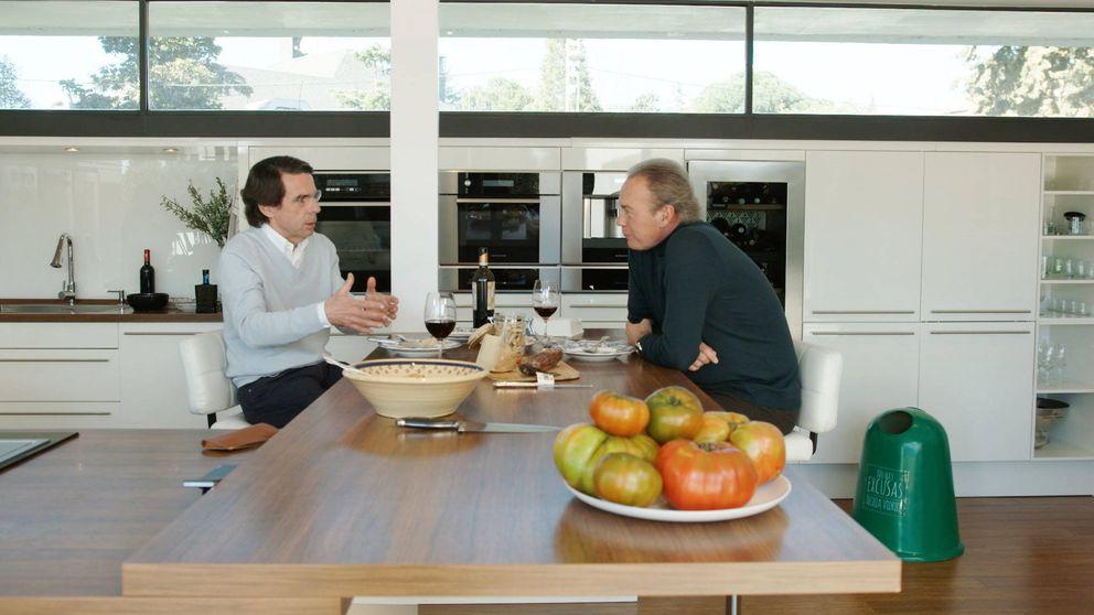 Aznar hunde a Bertín Osborne y lo lleva a su peor dato histórico