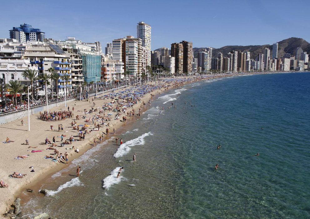 Foto: Benidorm (Alicante). Foto: Reuters.