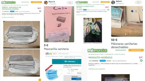 Los buitres de las mascarillas: pujas de 220€, robos a hospitales y laboratorios fantasma