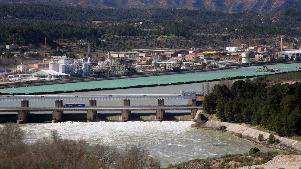 Foto: Foto de archivo del pantano de Mequinenza. (EFE=