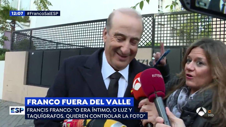 'Espejo público', en directo con Francis Franco. (Atresmedia)