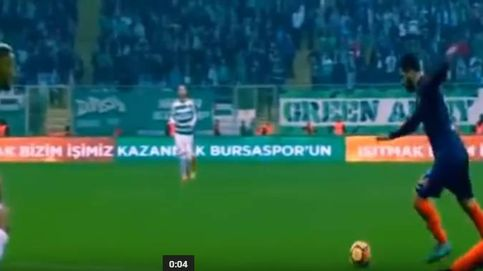Arda Turan vuelve a sentirse futbolista con un gol en su debut en el Başakşehir